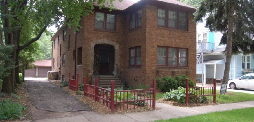 1309 Vilas Ave. 1R – Available August 15th 2021!