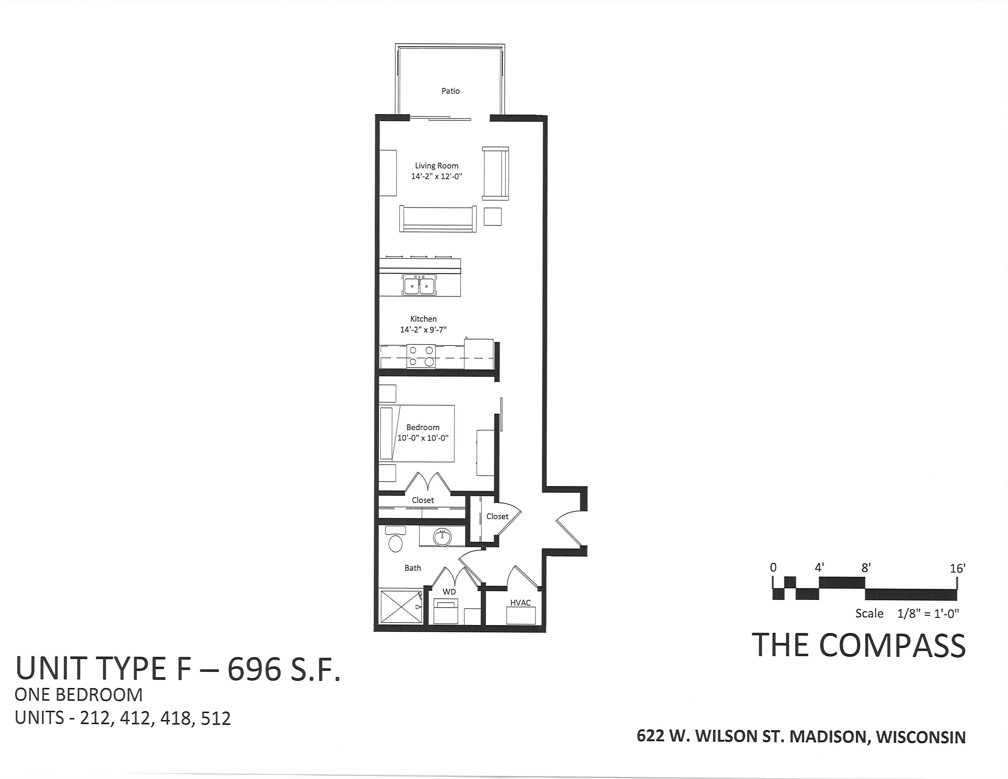 622 W. Wilson St. #418