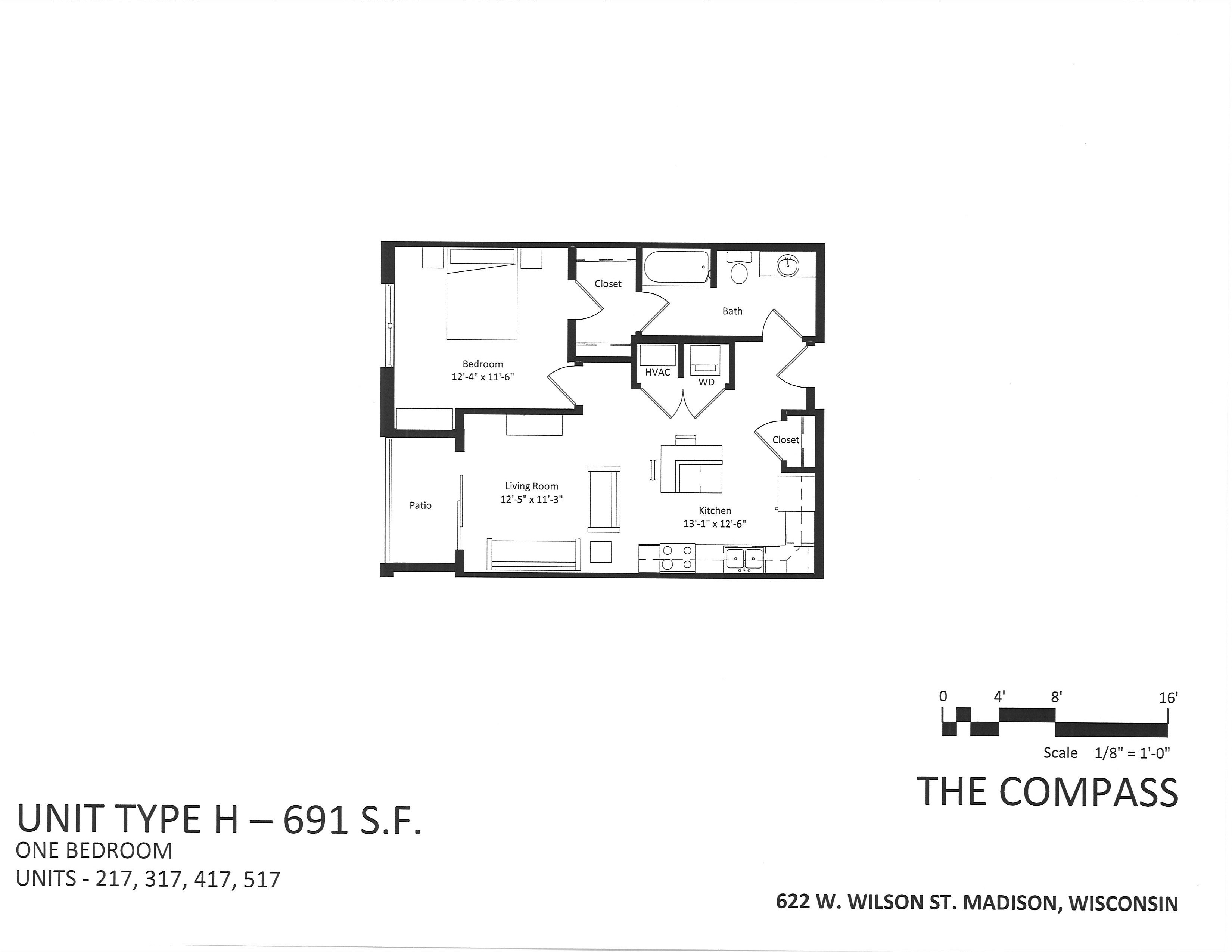 622 W. Wilson St. #517