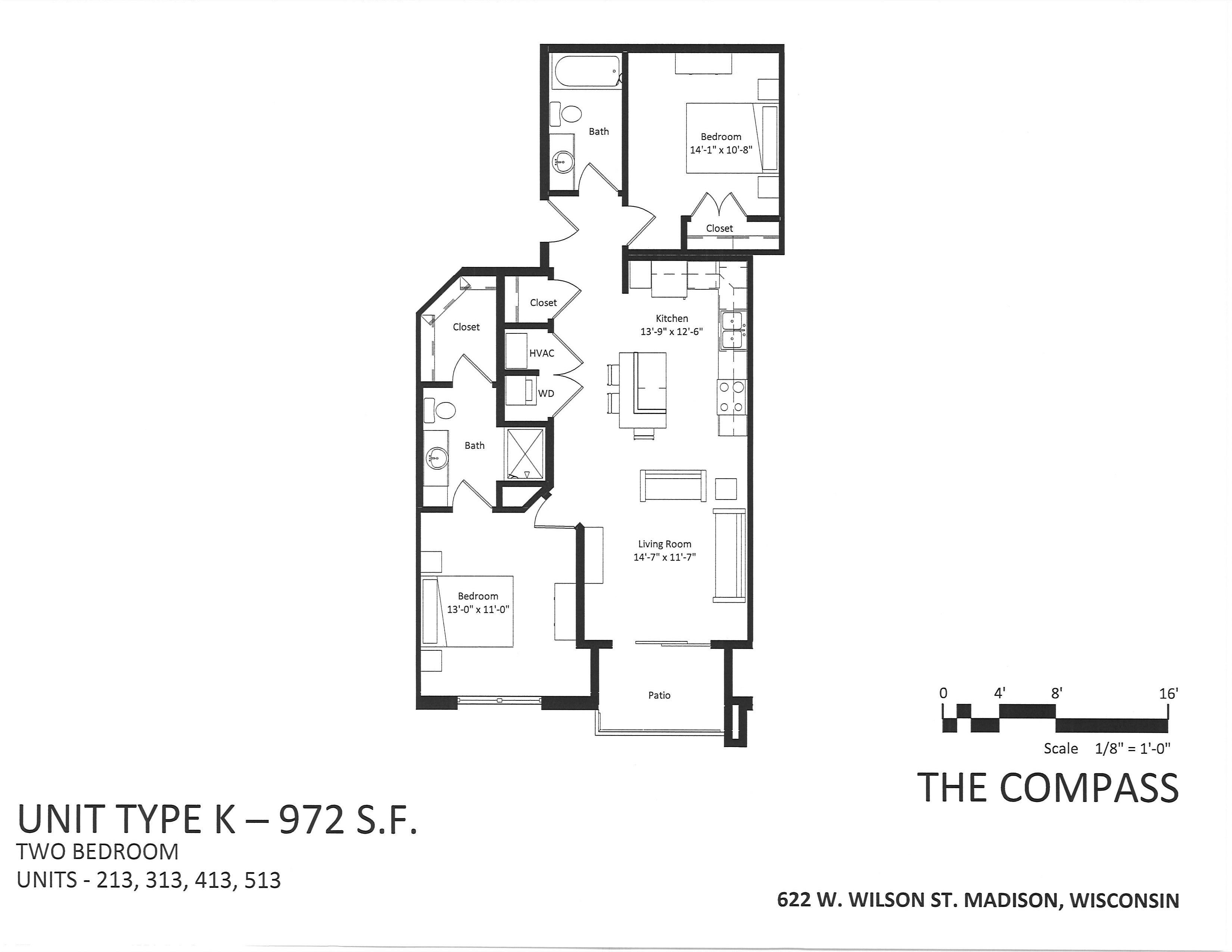 622 W. Wilson St #413