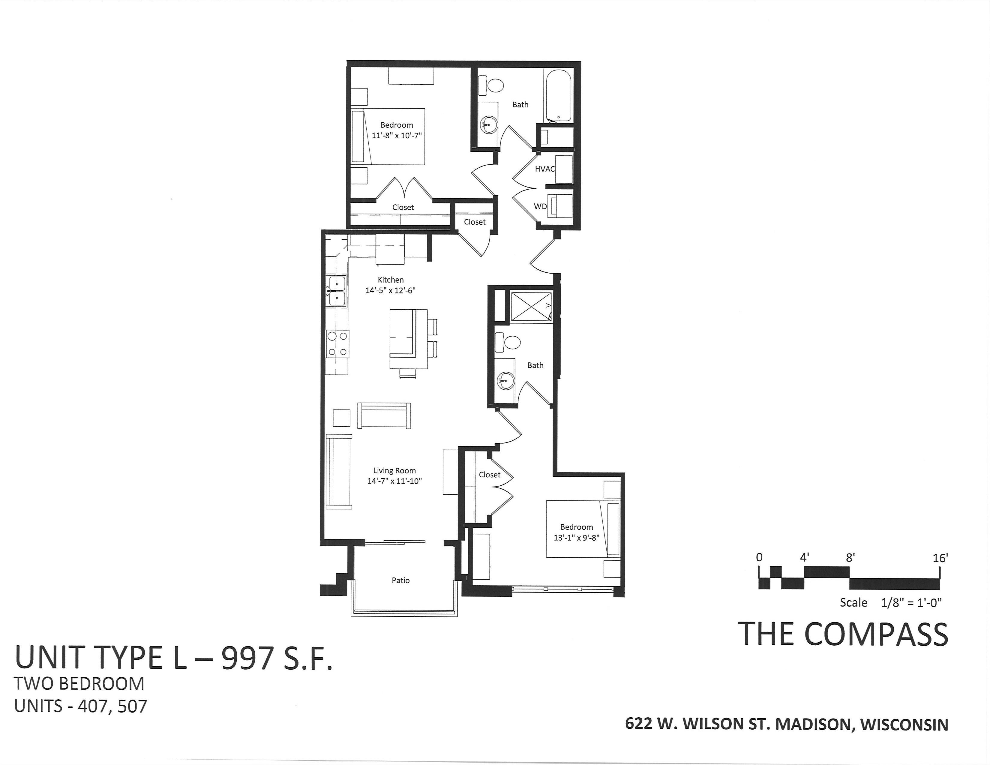 622 W. Wilson St. #507